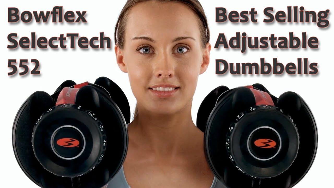 Bowflex SelectTech 552 Review