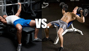 Dumbbells vs Barbells